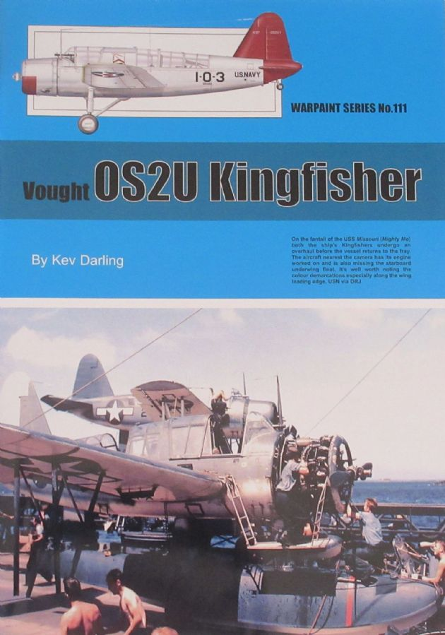 Vought OS2U Kingfisher, by Kev Darling